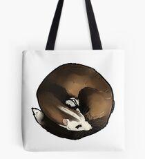 Curled Ferret - Blaze Tote Bag