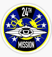 24th Mission - Inspired by Lost in Space Sticker