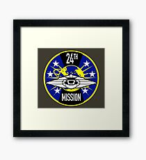24th Mission - Inspired by Lost in Space Framed Print