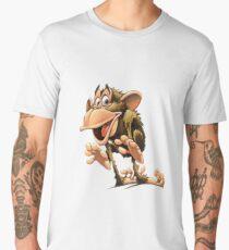 Funny Monkey Men's Premium T-Shirt