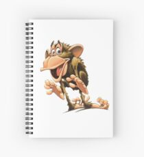 Funny Monkey Spiral Notebook