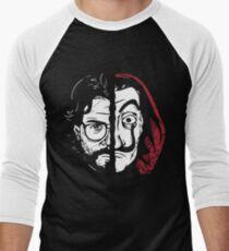 La Casa de Papel Profesor Men's Baseball ¾ T-Shirt