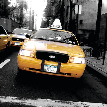 Yellow Cabs, New York by bubblemonkey