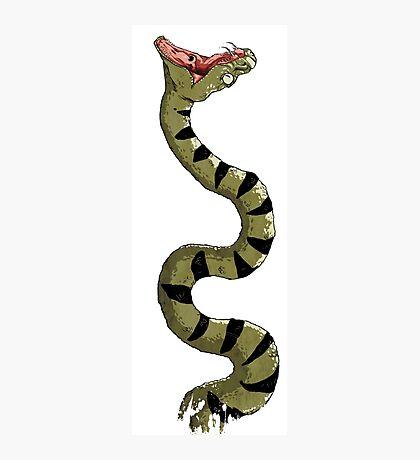 Snake! Photographic Print