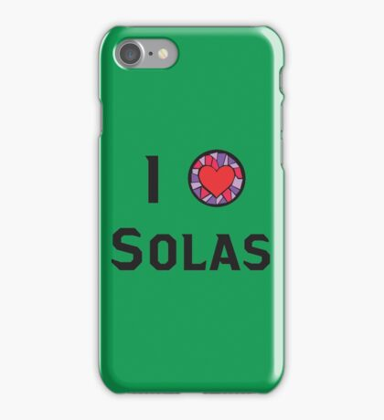 I Heart Solas iPhone Case/Skin
