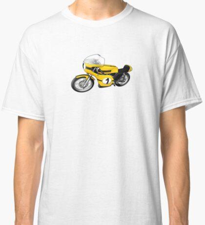 Motorcycle T-shirts Art: Yellow & black Classic T-Shirt