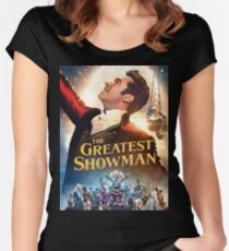 The Greatest Showman Women's Fitted Scoop T-Shirt