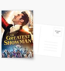 The Greatest Showman Postcards