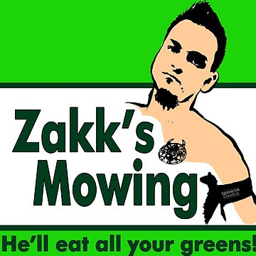 Zakk's Mowing QWA T-Shirt by Chewfactor