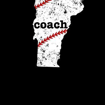 Vermont Shirt Baseball Coach Shirt Softball Coach Shirt by shoppzee