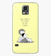Easy To Be Happy Case/Skin for Samsung Galaxy