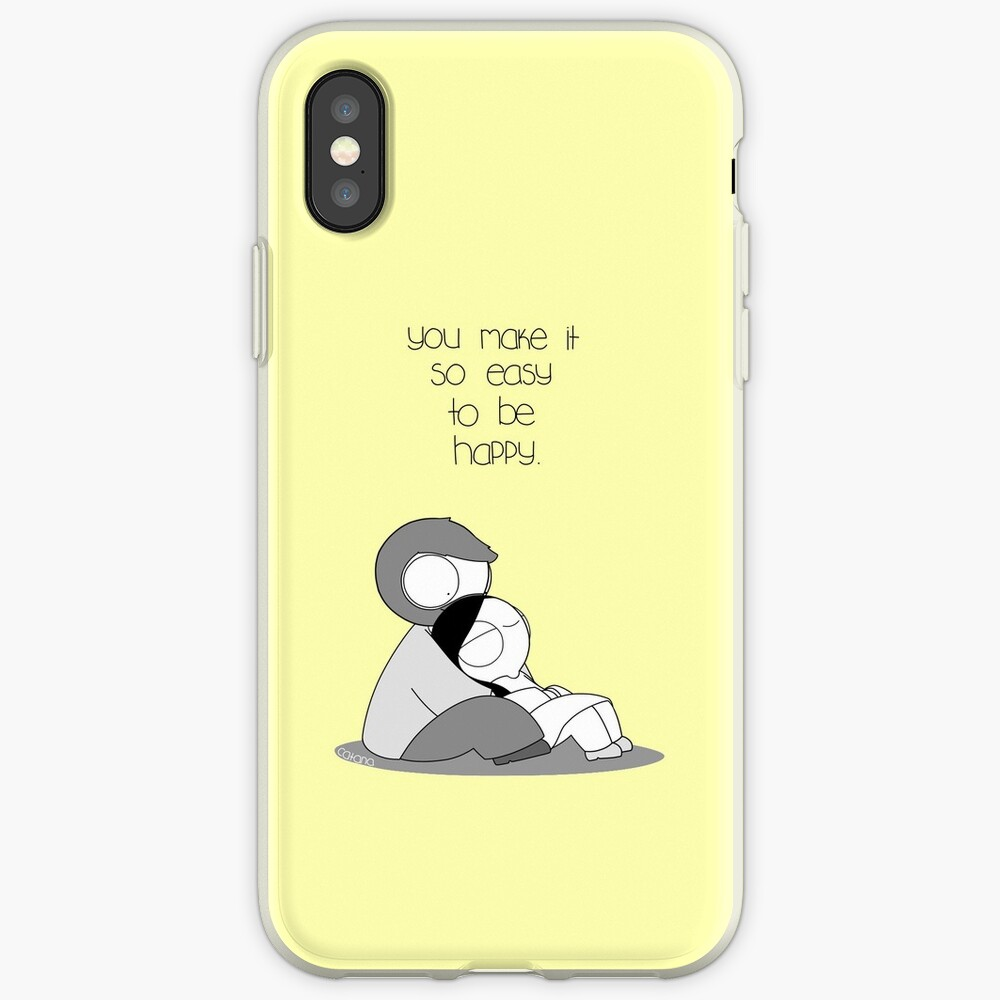 Easy To Be Happy iPhone Case & Cover