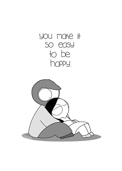 Easy To Be Happy by catanacomics