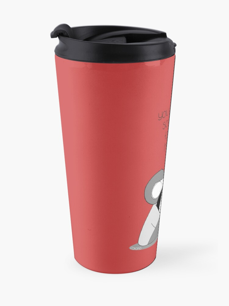 Alternate view of Easy To Be Happy Travel Mug