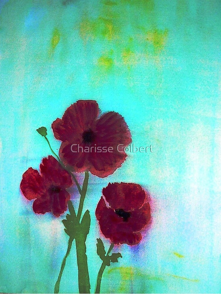 Poppies by charissecolbert