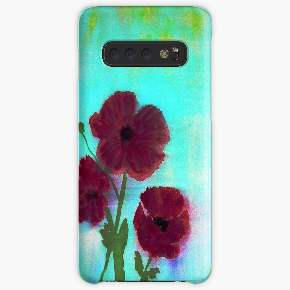 Poppies Case & Skin for Samsung Galaxy
