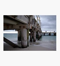 Jurien Bay - Jetty at dusk Photographic Print