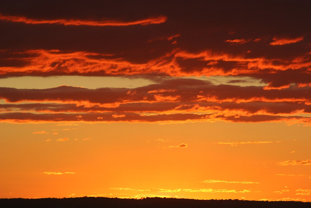 Sunset over Australia by jp5040