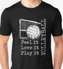 Volleyball Slim Fit T-Shirt