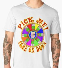 TV Game Show - TPIR (The Price Is...) Big Wheel Spinner Men's Premium T-Shirt