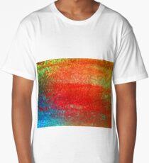 Rust Sunset Long T-Shirt