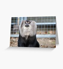 Proud Primate Greeting Card