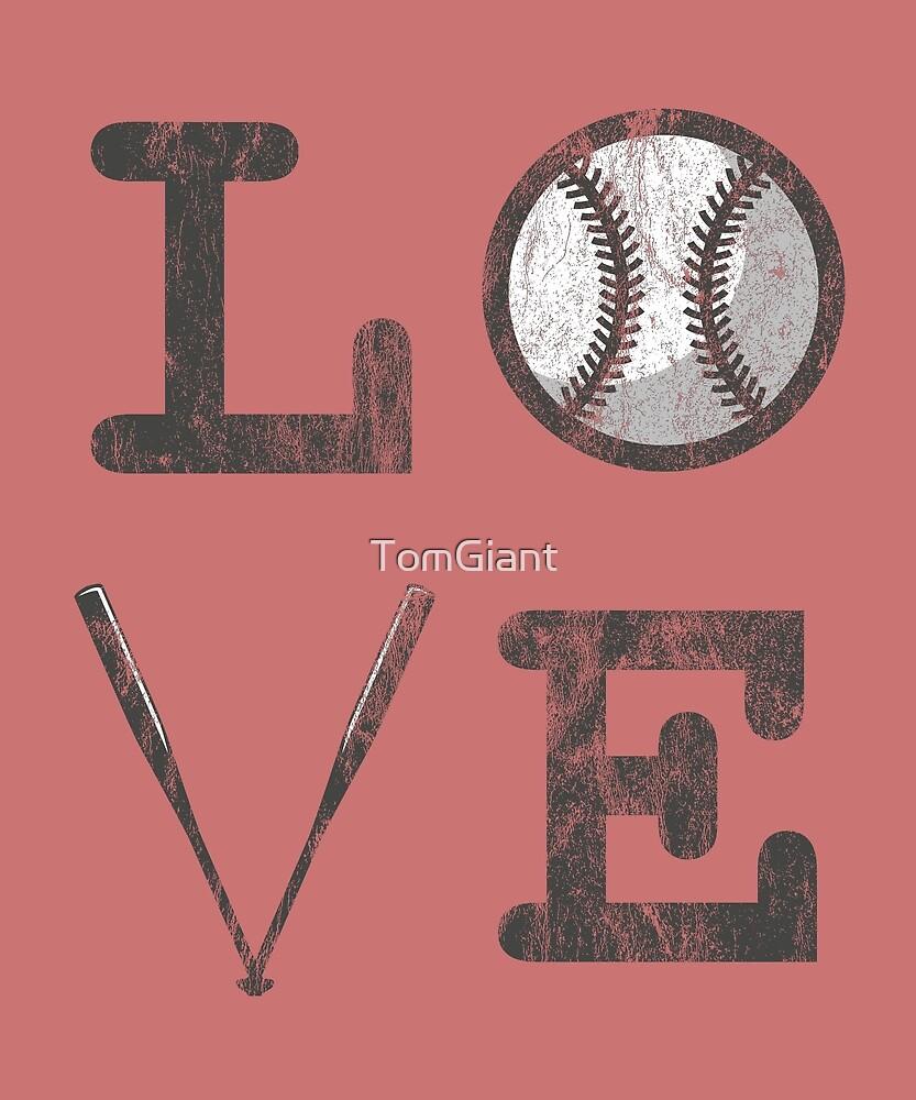 LOVE Baseball Shirt - Gift by TomGiant