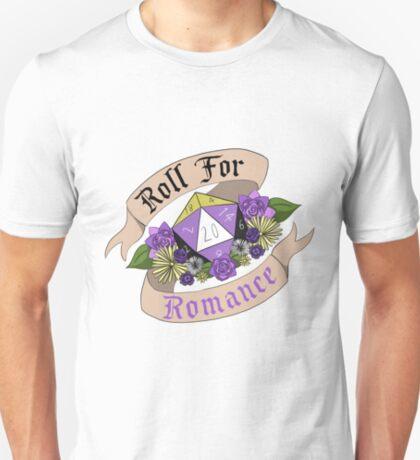 Roll For Romance - Nonbinary Pride T-Shirt