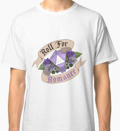 Roll For Romance - Genderqueer Pride Classic T-Shirt