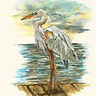 Heron by Kathleen Kelly-Thompson