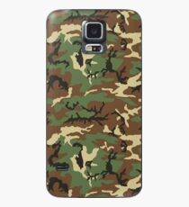 Vintage Retro Woodland Pattern Camouflage Phone Cases Case/Skin for Samsung Galaxy