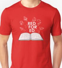 761b99232163 Red For Ed T-Shirt Slim Fit T-Shirt