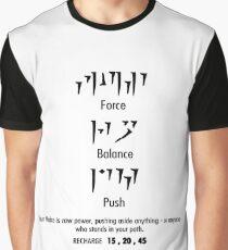 Fus Ro Dah - Black! Graphic T-Shirt