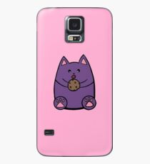 Fat Cat Cookie Case/Skin for Samsung Galaxy