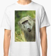 Baboon Face Classic T-Shirt