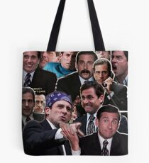The Office Michael Scott - Steve Carell Tote Bag