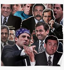 The Office Michael Scott - Steve Carell Poster