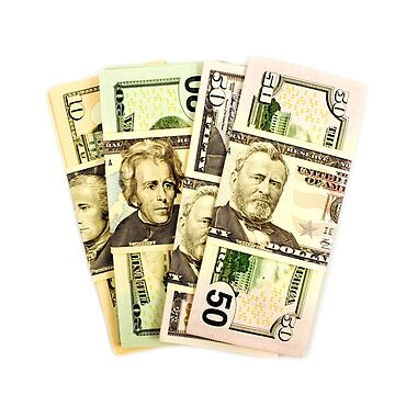 USA Presidents dollar bills by Mindreader