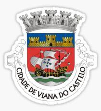 Viana do Castelo coat of arms, Portugal Sticker