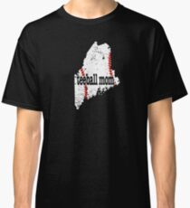 Maine Tee Ball Mom T Shirt Classic T-Shirt