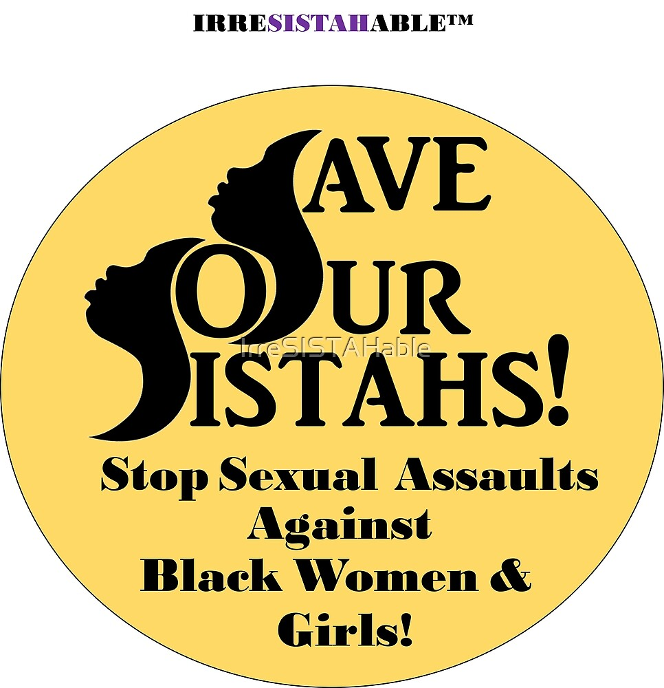 Stop Sexual Assault BW &G by IrreSISTAHable