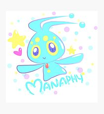 Manaphy! Photographic Print