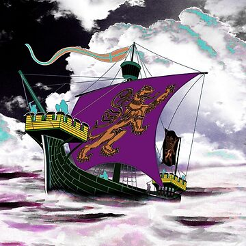 A 13th century English Fighting Ship, the Cog 13th century by ZipaC