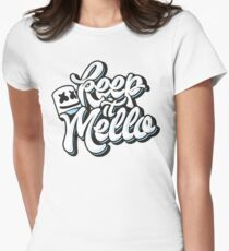 Keep it Mello Women's Fitted T-Shirt