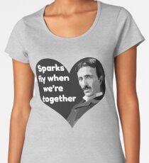 Tesla Love Women's Premium T-Shirt