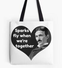 Tesla Love Tote Bag