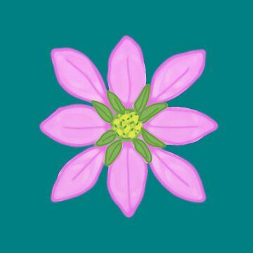 Little Pink Flowers by BettyMackey