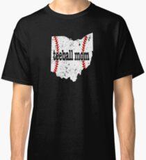 Ball Moms Shirt Ohio Teeball Mom T Shirt Classic T-Shirt