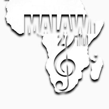 Malawi Grunge Tshirt by MusicForMalawi