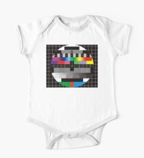 TV bars color test One Piece - Short Sleeve